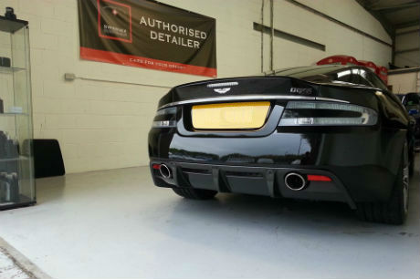 Aston DBS detail